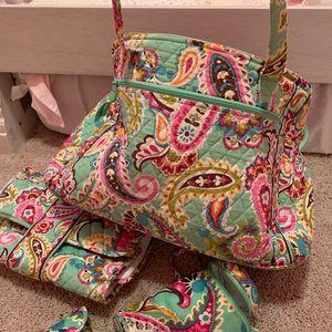 Vera Bradley Accessories - Vera Bradley Diaper Bag Tutti Frutti